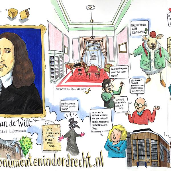 Open monumentendag in Dordrecht